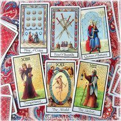 The Old English Tarot / Photo © www.VioletAura.com