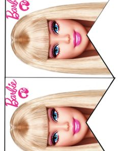 FREE Barbie Birthday Party cupcake toppers, banner, and water bottle label Printables Barbie Theme Party, Barbie Birthday Party, Birthday Bash, Birthday Ideas, Printable Birthday Banner, Free Barbie, Barbie Makeup, Party Printables, Cupcake Toppers