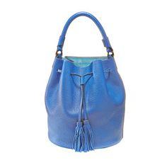 Bucket blue Bucket Bag, Blue, Bags, Schmuck