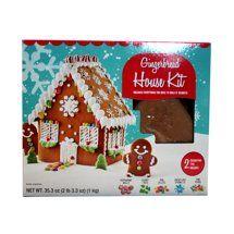 Marketside Gingerbread House Kit 2 2 Lb Gingerbread House Kits