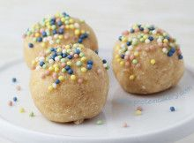 Cake Batter Protein Truffles with Jamie Eason Whey Protein Isolate