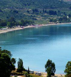 One of the best beaches at Nafplion! Karathona Beach!