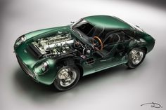 Aston Martin DB4 GT Zagato by CMC in 1:18th scale - See-through photo