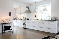 rechte keuken zonder bovenkastjes - Google zoeken