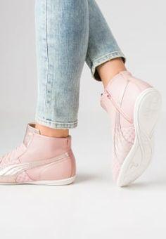 Puma - ESKIVA - High-top trainers - coral cloud pink/star white