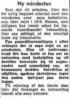 Klip fra omtale af generalforsamling i Bogø Skov, Lolland-Falsters Folketidende, 12. november 1959. Artikel af Svend Aage Christensen på Bogø Portalen, 13. september 2016.