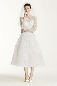 d65cf783ebb This just brings a smile to my face Tea Length Dresses