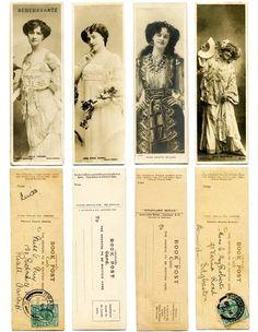 Para imprimir: Marcadores de livros - Pritable: Bookmarks
