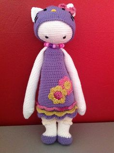 Hello Kitty mod / based on a lalylala crochet pattern