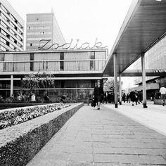 Image result for szyldy sklepowe prl Ppr, Brutalist, Poland, Illusions, City Photo, Sidewalk, Postwar, Europe, Exterior