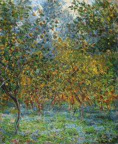 Sous les Citronniers (C Monet - W 873),1884.