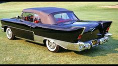 1957 Chevrolet El Morocco. Designed by Ruben Allender. Only 16 of these cars were built. #classiccars1957cadillac