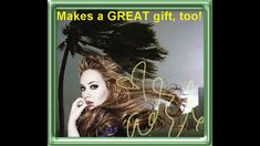 Great eye-catcher for your home: ADELE  Wall decor! Exciting wall decoration starring British Superstar ADELE who defies stormy weather at the coast of Florida. Signed with her genuine autograph! youtu.be/jimNtxp0_Rk 40x30 cm (15.75\