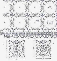 Вязание крючком свитер: Вязание крючком кружева Туника Pattern - Ницца