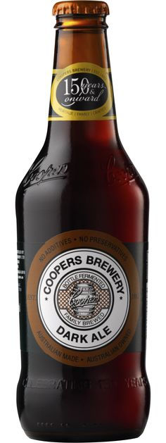 Coopers: Dark Ale...from Coopers in Adelaide, one of the great Australian brewers