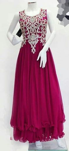 We all wish to wear designer dresses at every occasion. I have seen many beautiful designer evening dresses and designer collections. Pakistani Party Wear, Pakistani Outfits, Indian Outfits, Indian Attire, Indian Wear, Stylish Dresses, Formal Dresses, Formal Wear, Sexy Dresses