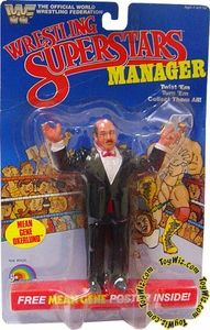 WWF LJN Wrestling Superstars Manager Mean Gene Okerlund