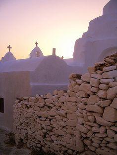 Paraportiani church, Mykonos Island belonging to Greece Mykonos Island, Mykonos Greece, Santorini, Beautiful Islands, Beautiful Places, Places Around The World, Around The Worlds, Greek Isles, Greece Travel