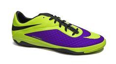 new style abf57 1468b Bota fúbol talla grande Nike HyperVenom para césped artificial. Fabricada  con material sintético.Cordaje