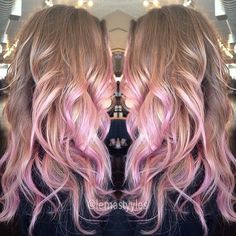 I love the pink!