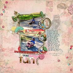 Add Tassels and Fringe to Your Scrapbook Pages for Fun Texture Scrapbook Pages, Scrapbooking Ideas, Some Ideas, Embellishments, Tassels, Ads, Texture, Crafts, Lily