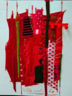 Textiles, Art Textile, Scrappy Quilts, Homemade, Cloths, Textile Art