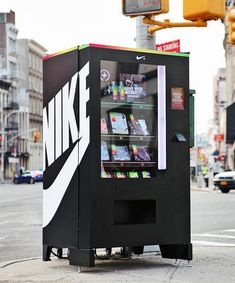 Nike - Vending Machine                                                                                                                                                      More