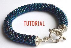 Beaded crochet rope tutorial / detailed von WildExpressionBeads, €6.50