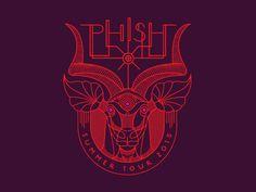 Phish Antelope Gramophone by Brian Steely