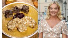Slavné ženy ajejich oblíbené recepty - Novinky.cz Tahini, Cereal, Pudding, Breakfast, Desserts, Fine Dining, Morning Coffee, Tailgate Desserts, Deserts