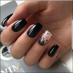 88 Best Matte Nail Art Ideas, 45 Cool Matte Nail Designs to Copy In 30 Fancy Matte Nail Art Designs Ideas You Need to Try Right, 40 Pretty Matte Nail Art Designs Ideas Spring 140 Pretty Matte Nail Art Designs Ideas Spring 2019 Page Matte Nail Art, Matte Black Nails, Black Nail Art, Black Nails Short, Black Manicure, Short Square Acrylic Nails, Red Nail, Matte Red, Black Polish