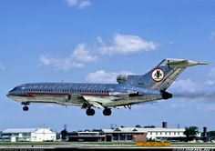 American Airlines - Boeing 727-23 Miss the polished aluminum finish
