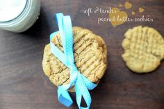 Eggless Peanut Butter Cookies