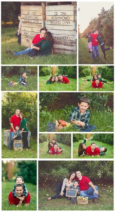 Apple Orchard Family Pictures