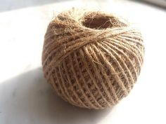 Check out this item in my Etsy shop https://www.etsy.com/listing/271029975/jute-string-60m