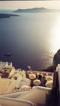 Oia on the island of Santorini.