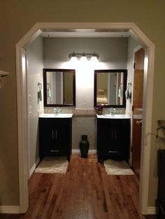 this room had a horrible carpet near the sinks now its nice and clean - Cork Living Room 2015