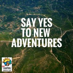 Our New Year's resolution: Say YES to new adventures. #gocampingamerica