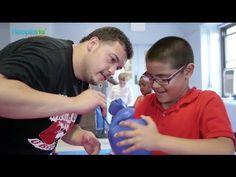 Kids Use Boxing to Knockout Obesity - YouTube