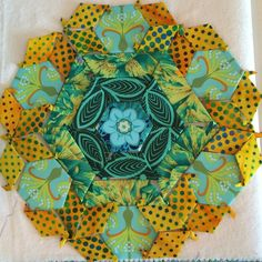 New Hexagon Millefiore– Rosette #2 Started