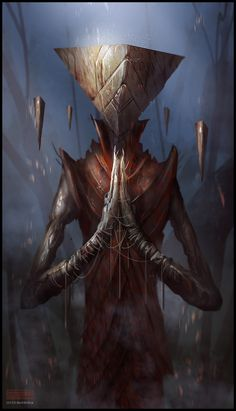 Mark Molnar - Sketchblog of Concept Art and Illustration Works: Pyramid Lord - Speedpainting