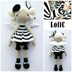 magicdolls: Crochet dolls #crochetpattern