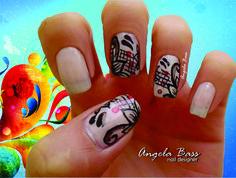 mandala nails/ uñas mandala