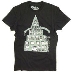 Kleding :: T-Shirts :: Kinder T-Shirt Volcom Fa Kid Creature V.Co Black - GROM Online Tienerkleding Kinderkleding en Kinderschoenen.