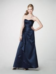 Alfred Angelo Bridesmaid Dresses - Style 7203 (the winner, in persimmon)