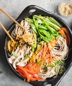 This Chilled Noodle Salad with Spicy Peanut Sauce recipe is featured in the Noodle Soup feed along with many more. Peanut Sauce Recipe, Peanut Butter Sauce, Spicy Peanut Sauce, Sauce Recipes, Veggie Recipes, Asian Recipes, Ethnic Recipes, Planning Budget, Menu Planning
