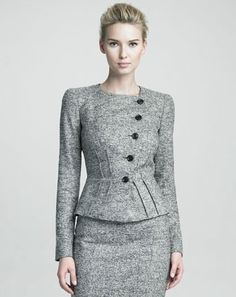 Armani - Collezioni Structured Jacket Fall 2012