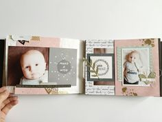 Rattrapage Part 2 : Mini album - Le scrap d'AnnlizB. Mini Albums Scrapbook, Book Making, Scrapbooks, 6 Months, Frame, Cards, How To Make, Junk Journal, Journaling