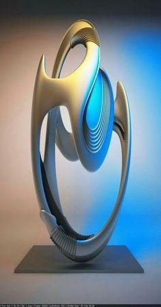 Modern Sculpture, Abstract Sculpture, Sculpture Art, Abstract Art, Abstract Digital Art, Benfica Wallpaper, Art Fractal, Futuristic Architecture, Cellphone Wallpaper