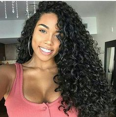 Curly Wigs For African American Women The Same As The Hairstyle In The Picture - Wigs For Black Women - Lace Front Wigs, Human Hair Wigs, African American Wigs, Short Wigs, Bob Wigs Curly Wigs, Long Curly Hair, Human Hair Wigs, Curly Hair Styles, Natural Hair Styles, Deep Curly, Curly Hair Weaves, Cute Curly Hair, Long Curly Weave